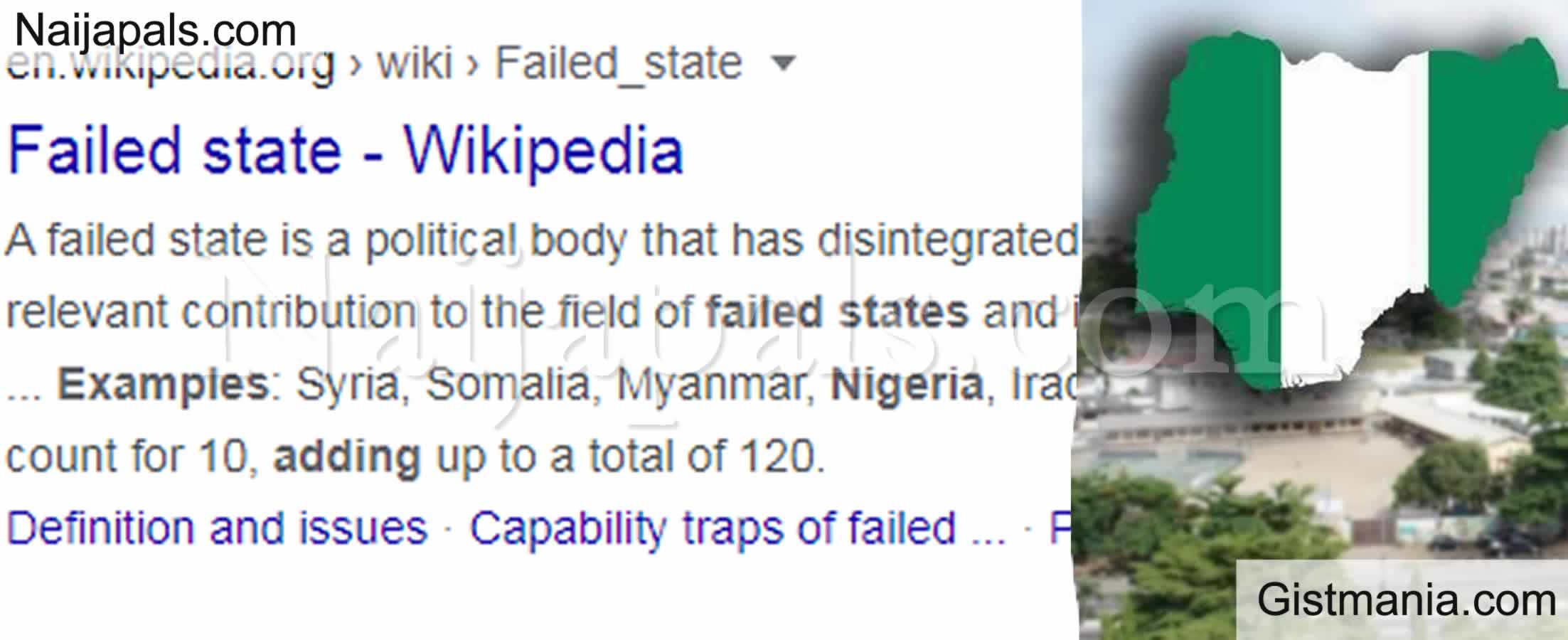 <img alt='.' class='lazyload' data-src='https://img.gistmania.com/emot/cry.gif' /> <b>Nigeria Included to List of 'Failed States' on Wikipedia</b>