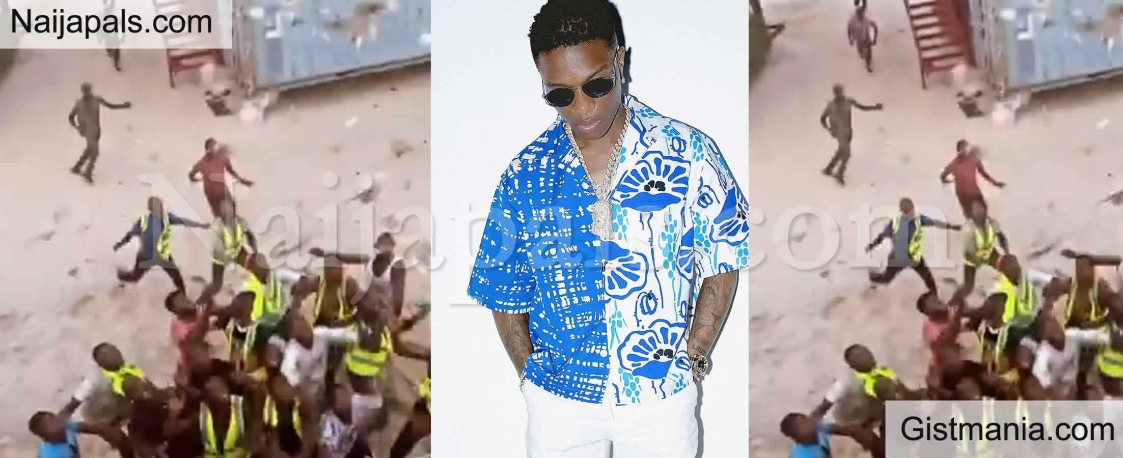 <img alt='.' class='lazyload' data-src='https://img.gistmania.com/emot/video.gif' /> <b>Watch Afrobeat Singer, Wizkid Causing Frenzy as He Makes Money Rain at a Lagos Beach</b> (Video)