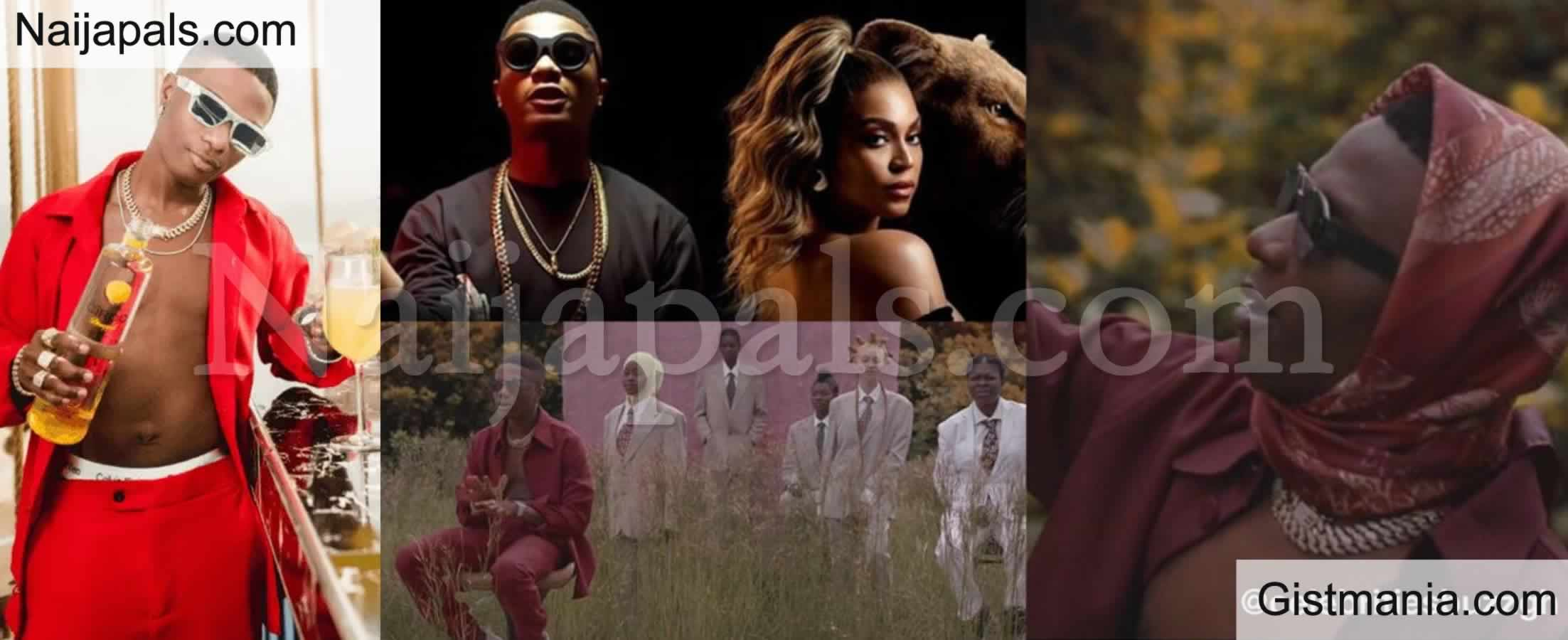 <img alt='.' class='lazyload' data-src='https://img.gistmania.com/emot/award.gif' /> <b>Wizkid & Beyonce's 'Brown Skin Girl' Bags Grammy Nomination For Best Music Video, Fans React</b>