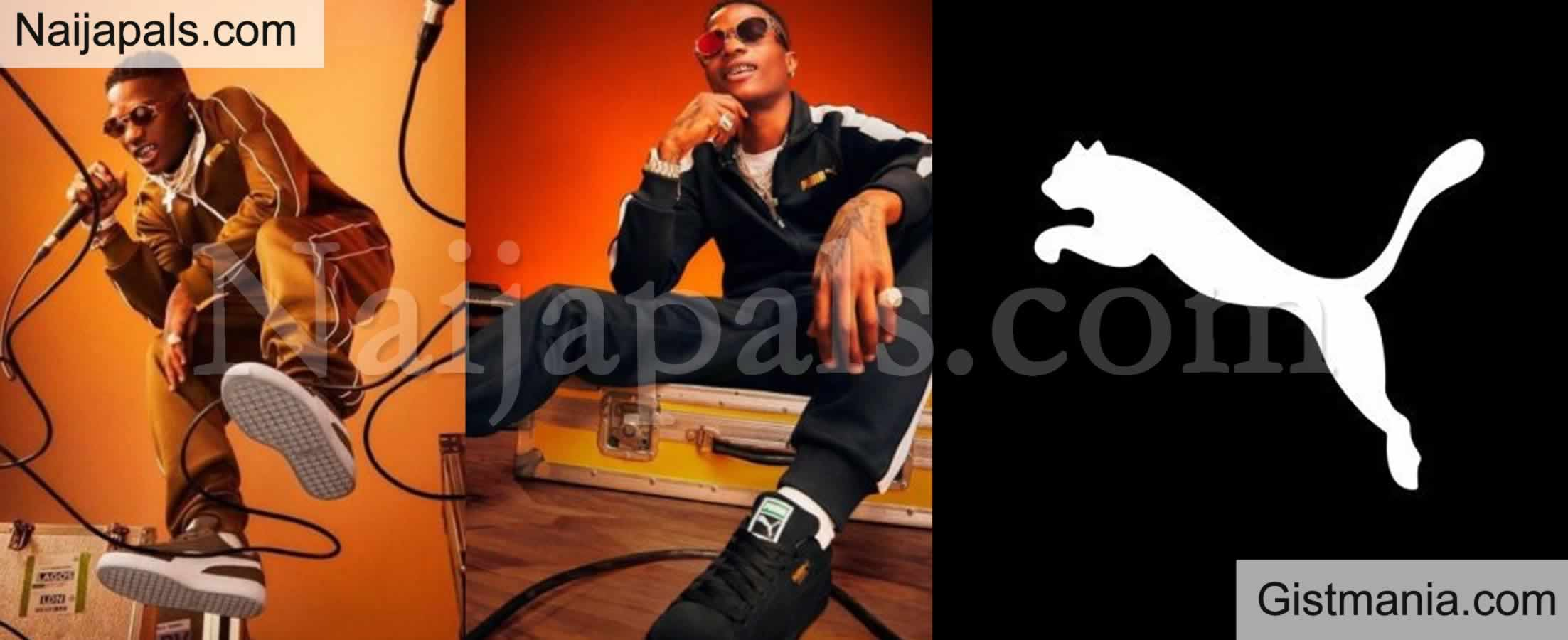 <img alt='.' class='lazyload' data-src='https://img.gistmania.com/emot/news.gif' /> <b>Starboy, Wizkid Unveiled As Latest Puma Brand Ambassador</b>