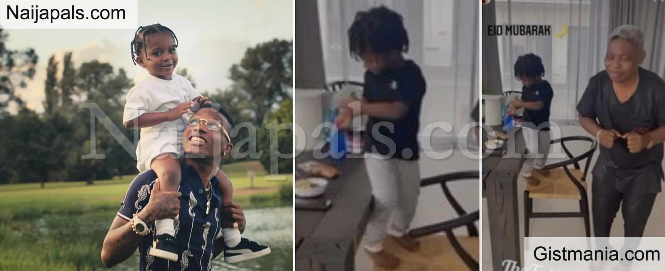 <img alt='.' class='lazyload' data-src='https://img.gistmania.com/emot/video.gif' /> <b>Wizkid's Son, Zion Alongside His Dad's Manager Shows Off Their Dance Skills</b> (Video)