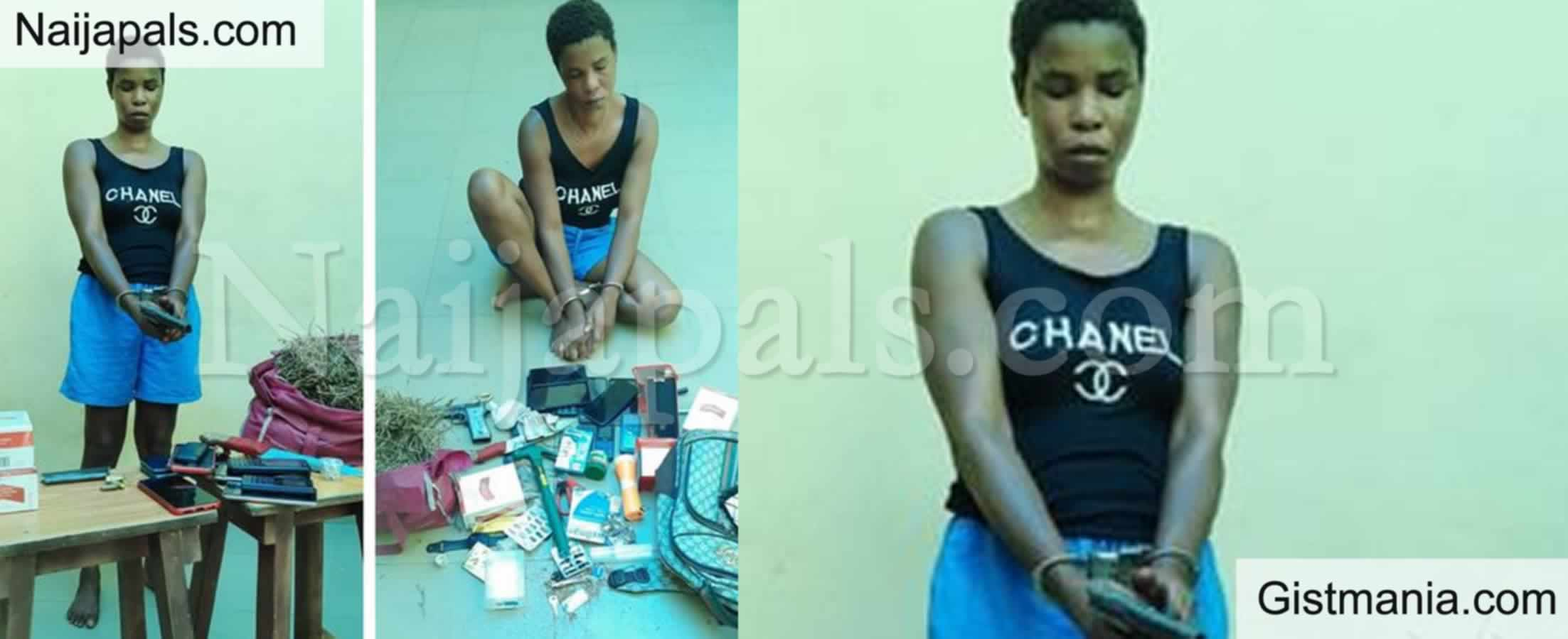 <img alt='.' class='lazyload' data-src='https://img.gistmania.com/emot/news.gif' /> <b>Woman Arrested With Pistol, Live Ammunition, Drugs In Delta</b> (PHOTO)