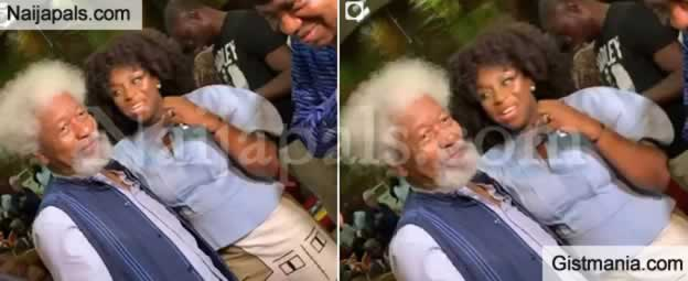 <img alt='.' class='lazyload' data-src='https://img.gistmania.com/emot/celeb.gif' /> <b>Celebrating Nobel Laureate & Africa's Iconic Literary Maestro, Prof. Wole Soyinka at 86</b>
