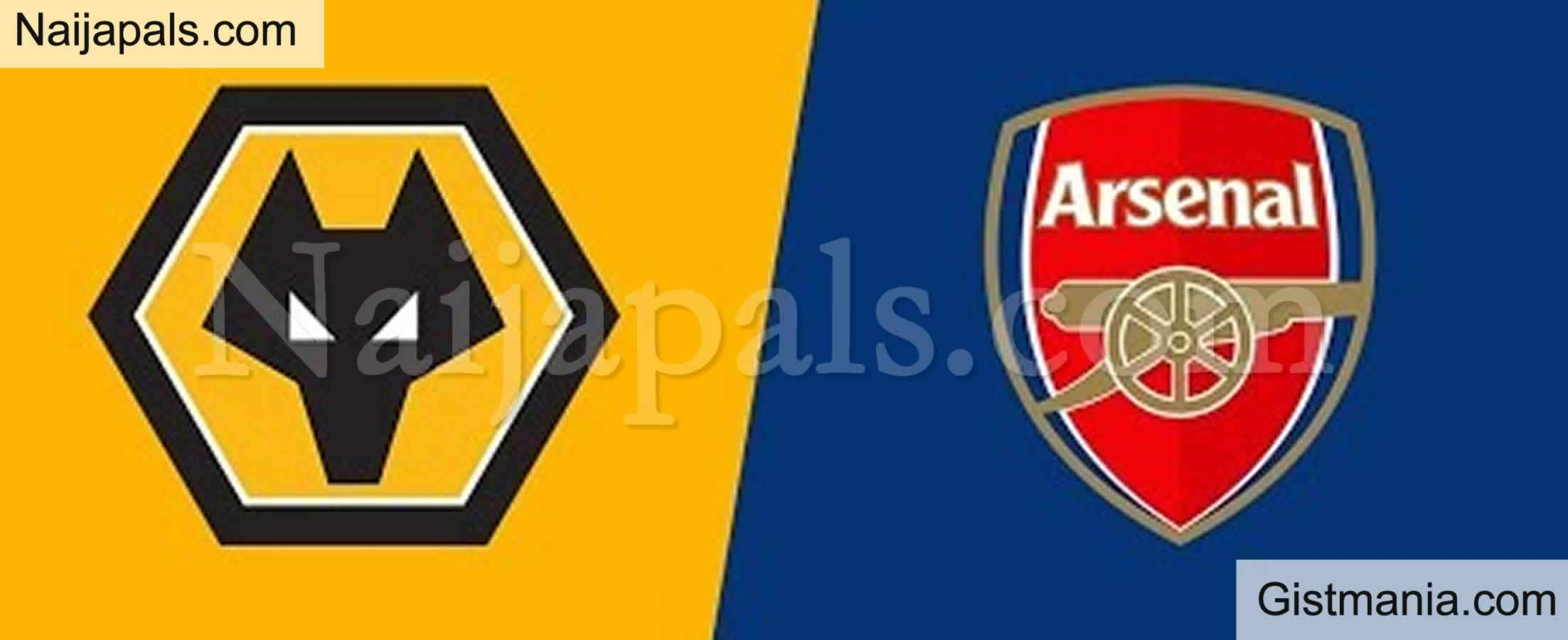 <img alt='.' class='lazyload' data-src='https://img.gistmania.com/emot/soccer.gif' /> <b>Wolves v Arsenal : English Premier League Match, Team News, Goal Scorers and Stats</b>