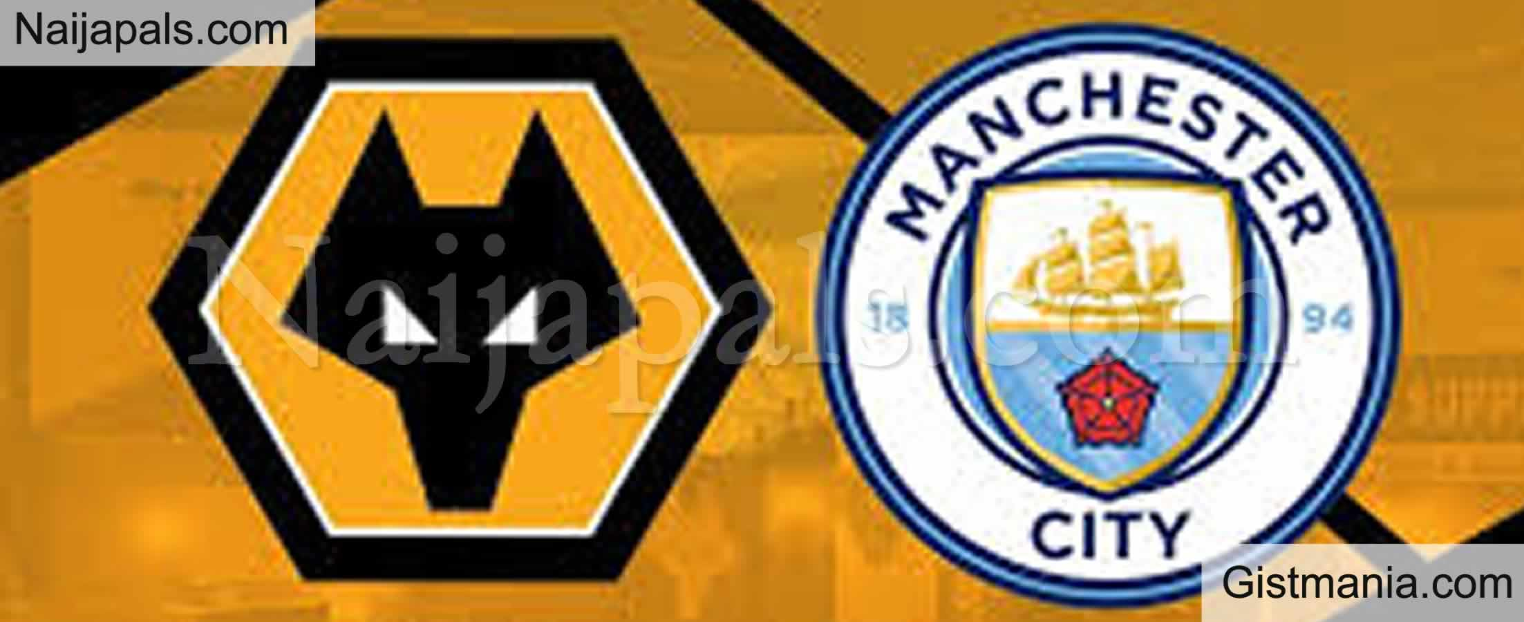 <img alt='.' class='lazyload' data-src='https://img.gistmania.com/emot/soccer.gif' /> <b>Wolves v Manchester City : English Premier League Match, Team News, Goal Scorers and Stats</b>