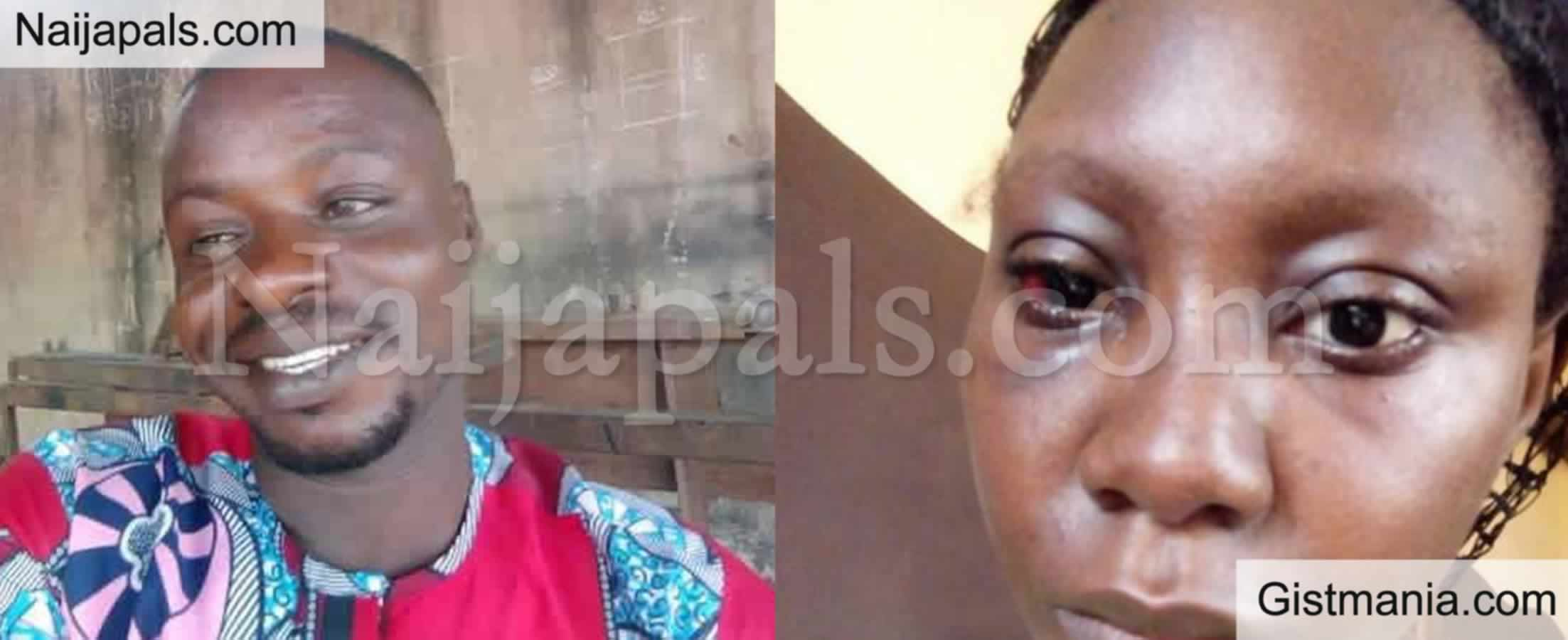"""<img alt='.' class='lazyload' data-src='https://img.gistmania.com/emot/shocked.gif' /> <b>""""Ogun State Chiefs Shielding Man Who Beats Me After Urinating In My Compound"""" -Woman Cries Out</b>"""