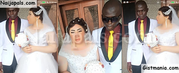 TRUE LOVE? Beautiful Lady Marries A Visually-Impaired Man In Nasarawa State (Photos)