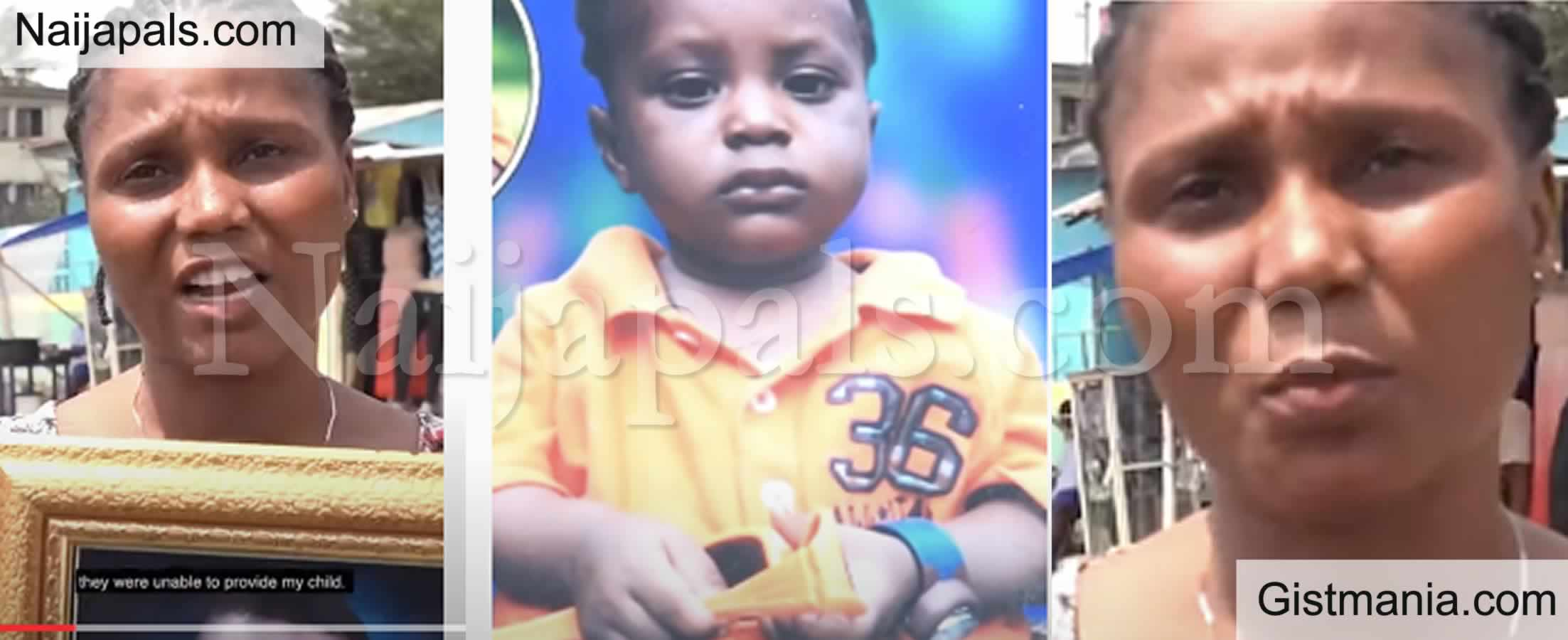<img alt='.' class='lazyload' data-src='https://img.gistmania.com/emot/video.gif' /> <b>Woman Cries Out As Lagos Police Gave Her Missing Child To an Imposter & Wants Her to Pay N200k</b>