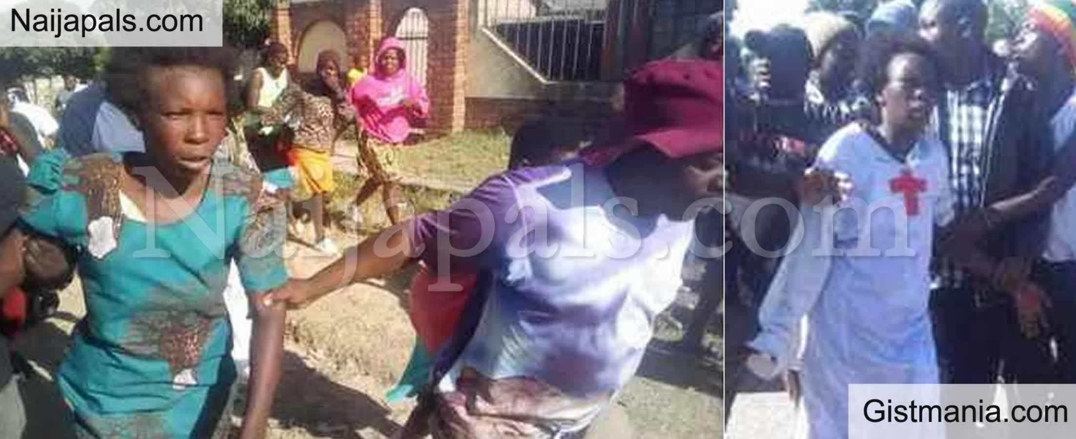 <img alt='.' class='lazyload' data-src='https://img.gistmania.com/emot/news.gif' /> <b>Angry Mob Descend on Woman Accused Of Stealing 2 Year Old Child</b>