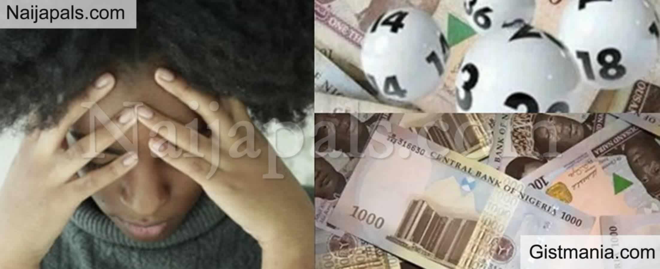 <img alt='.' class='lazyload' data-src='https://img.gistmania.com/emot/shocked.gif' /> Nigerian <b>Lady Goes Broke 3 Months After Winning N59 Million From 'Baba Ijebu'</b>