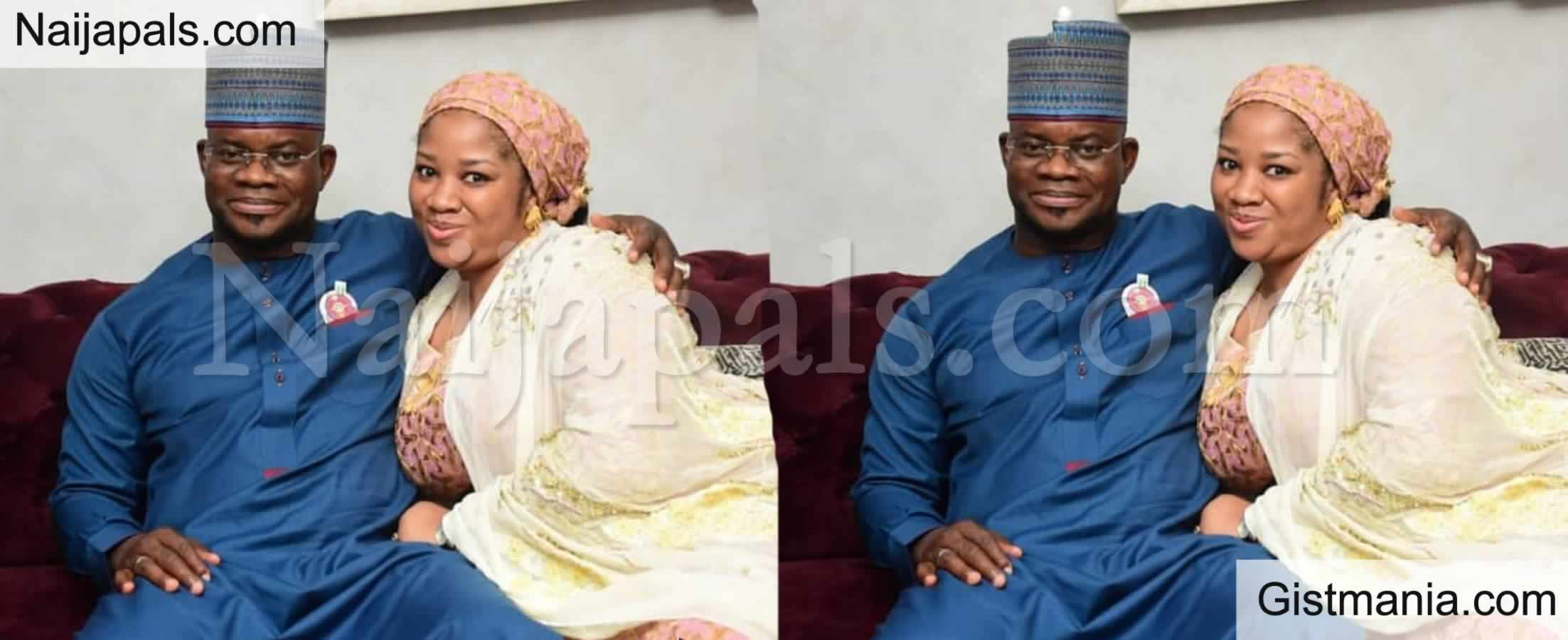 <img alt='.' class='lazyload' data-src='https://img.gistmania.com/emot/broken_heart.gif' /> <b>Kogi State Governor, Yahaya Bello Reportedly Divorces Third Wife, Hafiza</b>