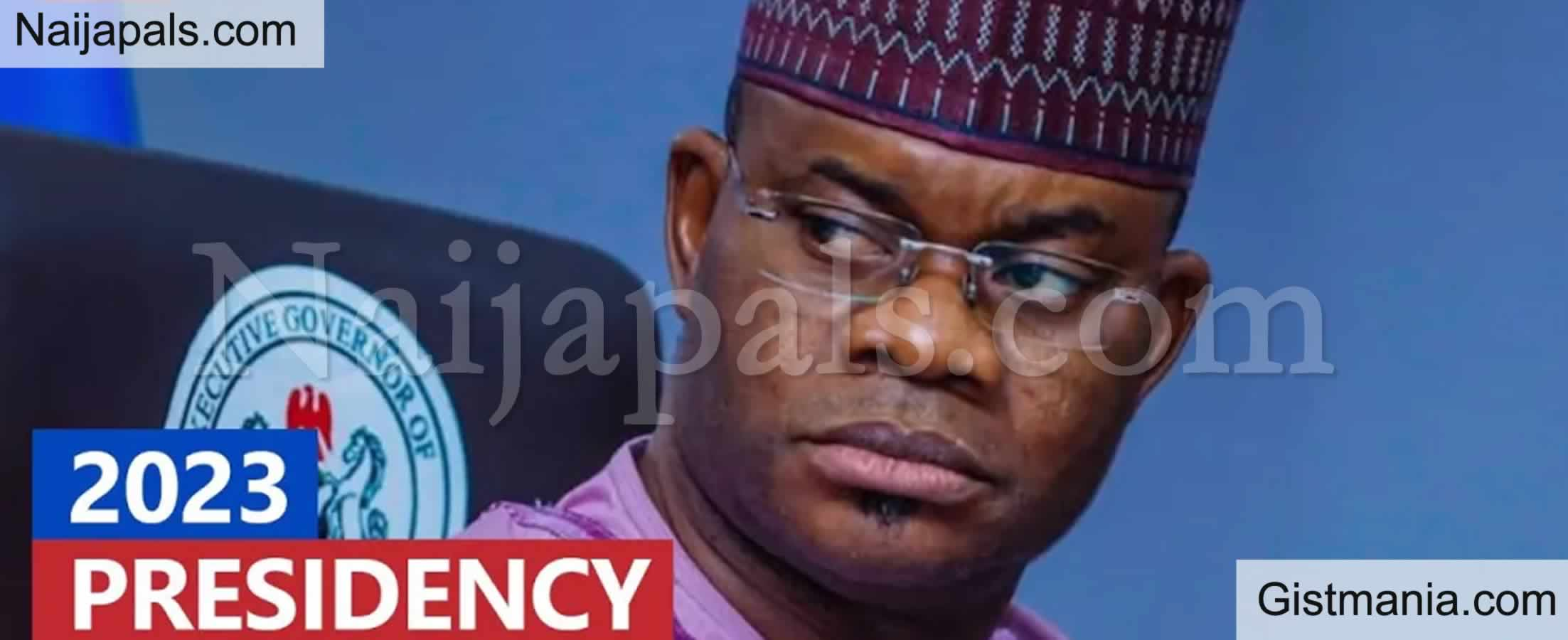 <img alt='.' class='lazyload' data-src='https://img.gistmania.com/emot/comment.gif' /> <b>Nigeria Is Doing Badly, I Will Fix Nigeria In 365 Days As President</b> — Governor Yahaya Bello