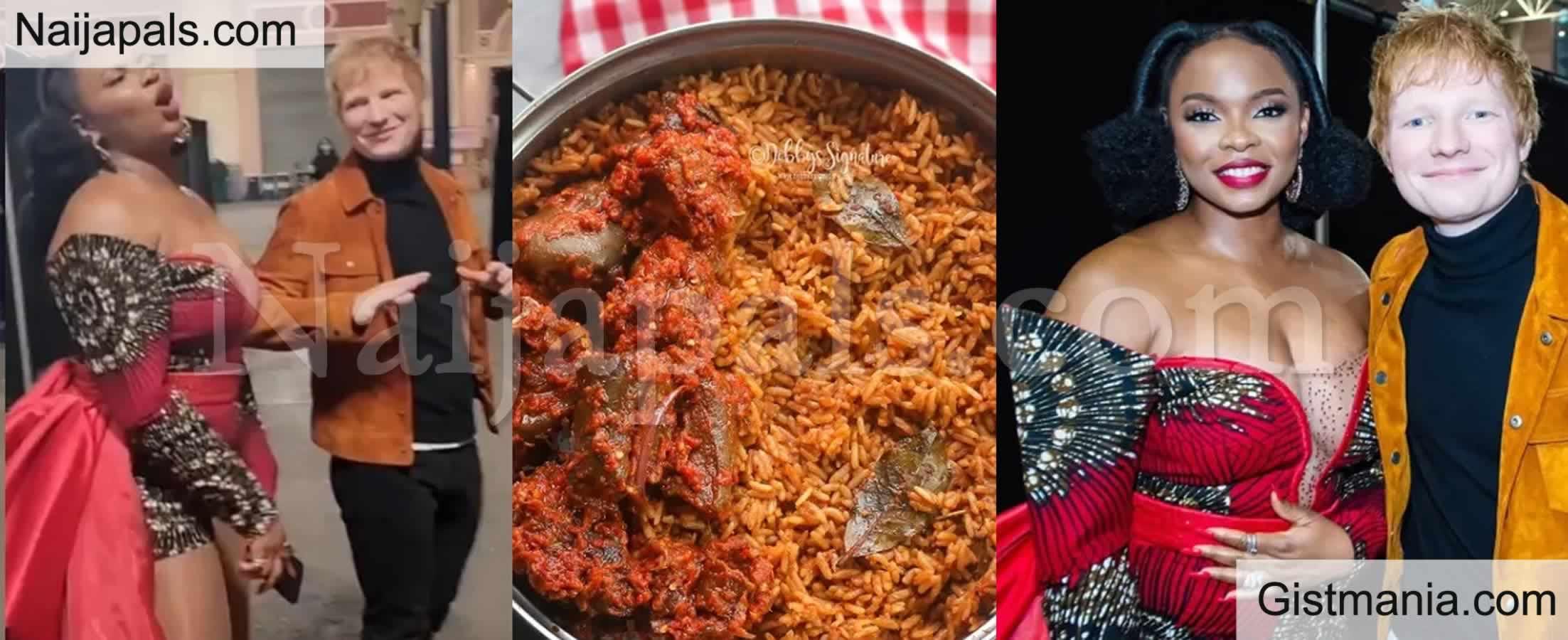 <img alt='.' class='lazyload' data-src='https://img.gistmania.com/emot/video.gif' /> <b>Watch Yemi Alade's Reaction After British Singer, Ed Sheeran Declared His Love For Ghana Jollof</b>