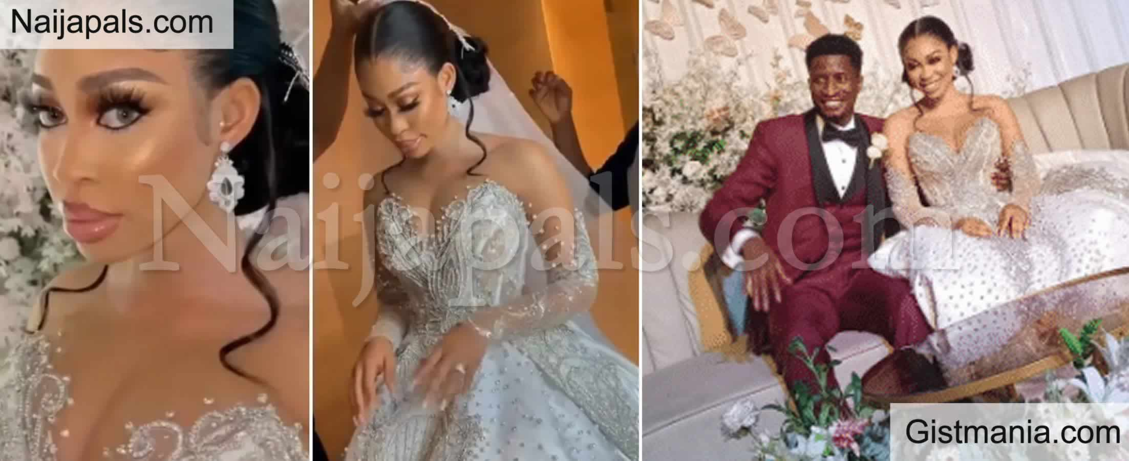 <img alt='.' class='lazyload' data-src='https://img.gistmania.com/emot/video.gif' /> <b>Videos From White Wedding of Actress, Yetunde Barnabas And Super Eagles Player, Peter Olayinka</b>