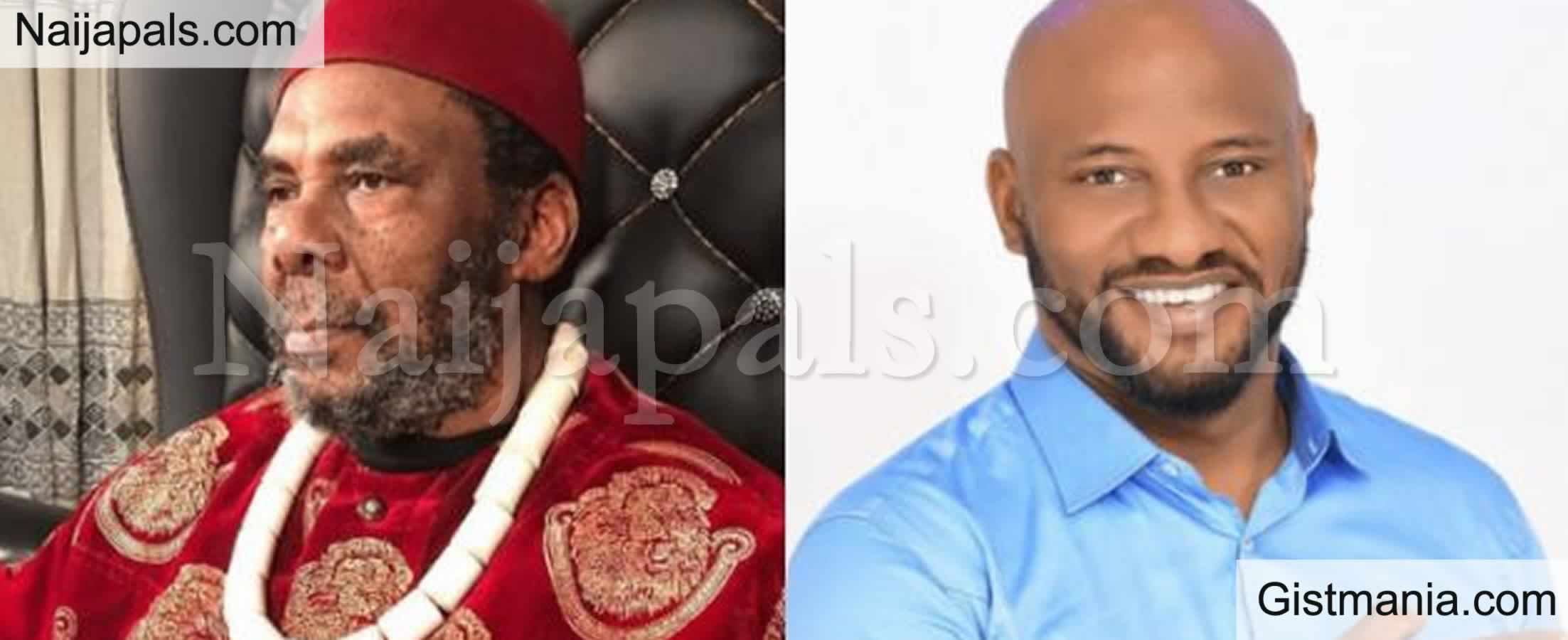 <img alt='.' class='lazyload' data-src='https://img.gistmania.com/emot/thumbs_up.gif' /> <b>Actor, Yul Edochie Hails His Father, Pete Edochie, Says He Made Him Tough</b>