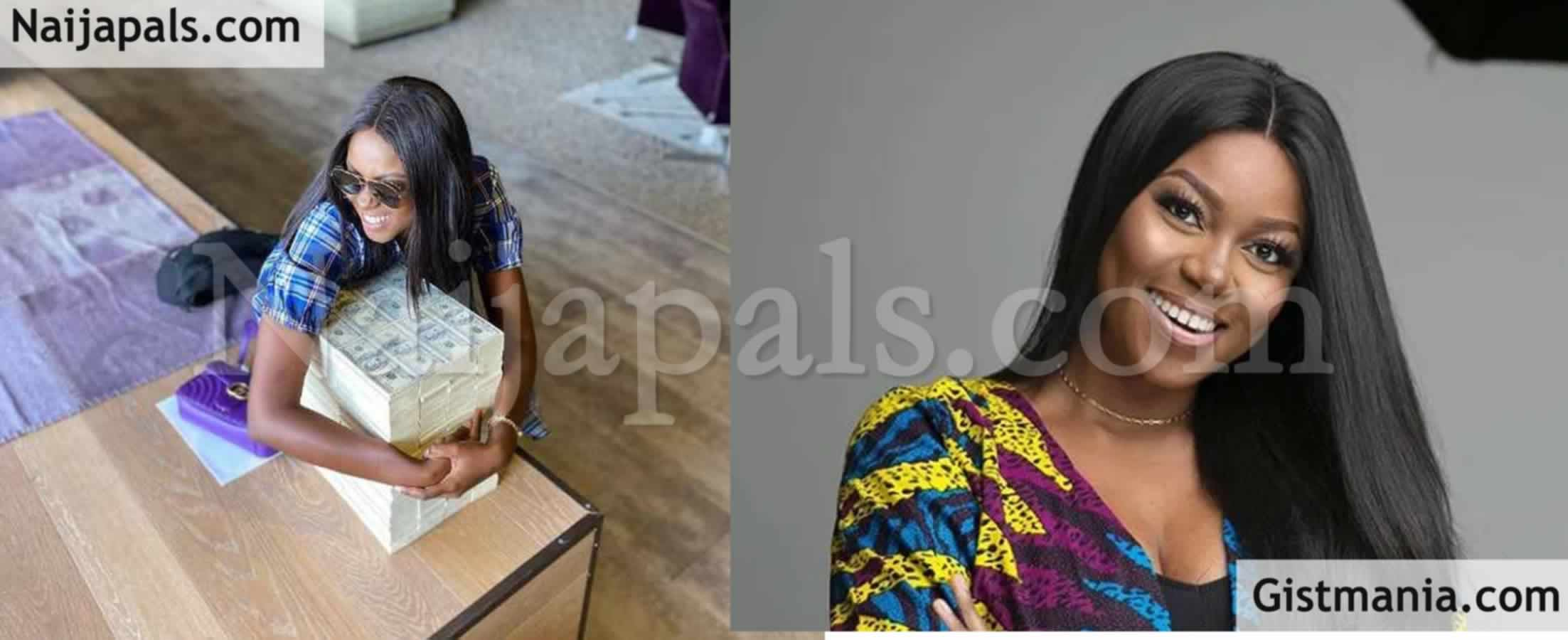 <img alt='.' class='lazyload' data-src='https://img.gistmania.com/emot/photo.png' /> <b>Ghanaian Actress, Yvonne Nelson Flaunts A Gargantuan Sum Of $200,000 On Social Media</b> (Photo)