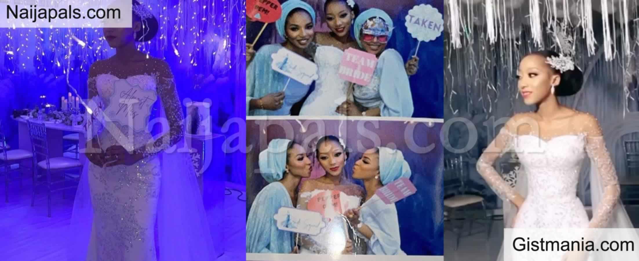 <img alt='.' class='lazyload' data-src='https://img.gistmania.com/emot/photo.png' /> Photos From<b> Yusuf Buhari's Fiancé, Zahra Bayero Bridal Shower</b>