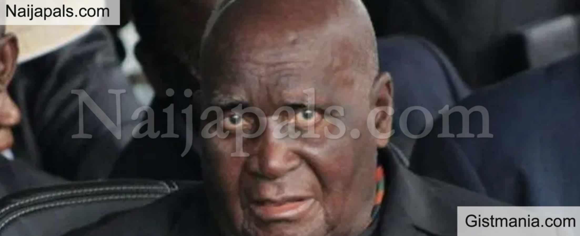 <img alt='.' class='lazyload' data-src='https://img.gistmania.com/emot/news.gif' /> <b>Story Of Zambia's Founding President, Kenneth Kaunda Who Was Not Ashamed To Weep In Public, Dies</b>