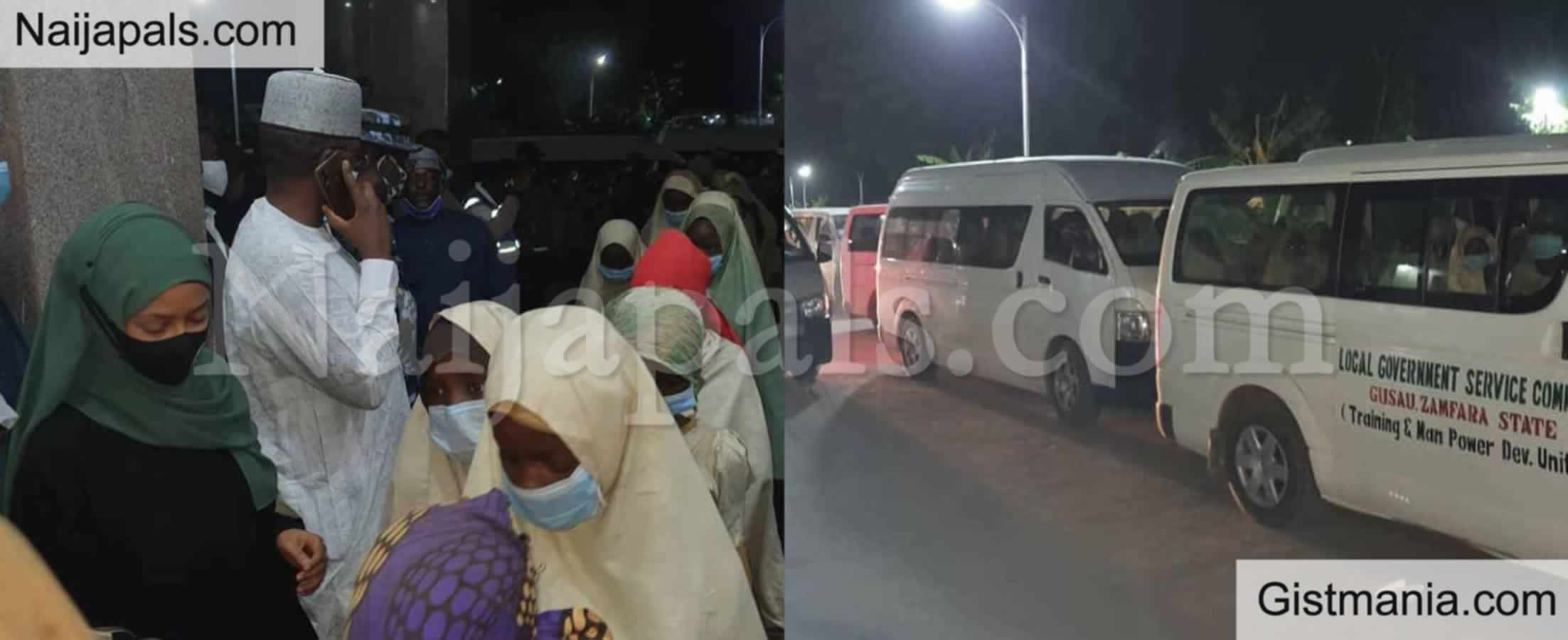 <img alt='.' class='lazyload' data-src='https://img.gistmania.com/emot/news.gif' /> BREAKING: <b>Kidnapped Zamfara School Girls Finally Regain Freedom</b>