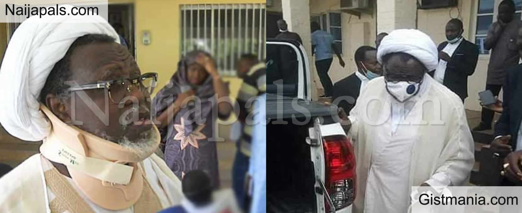 <img alt='.' class='lazyload' data-src='https://img.gistmania.com/emot/news.gif' /> PHOTOS: <b>Shitte's Leader, El-Zakzaky And Wife Freed After 6 Years in Detention</b>