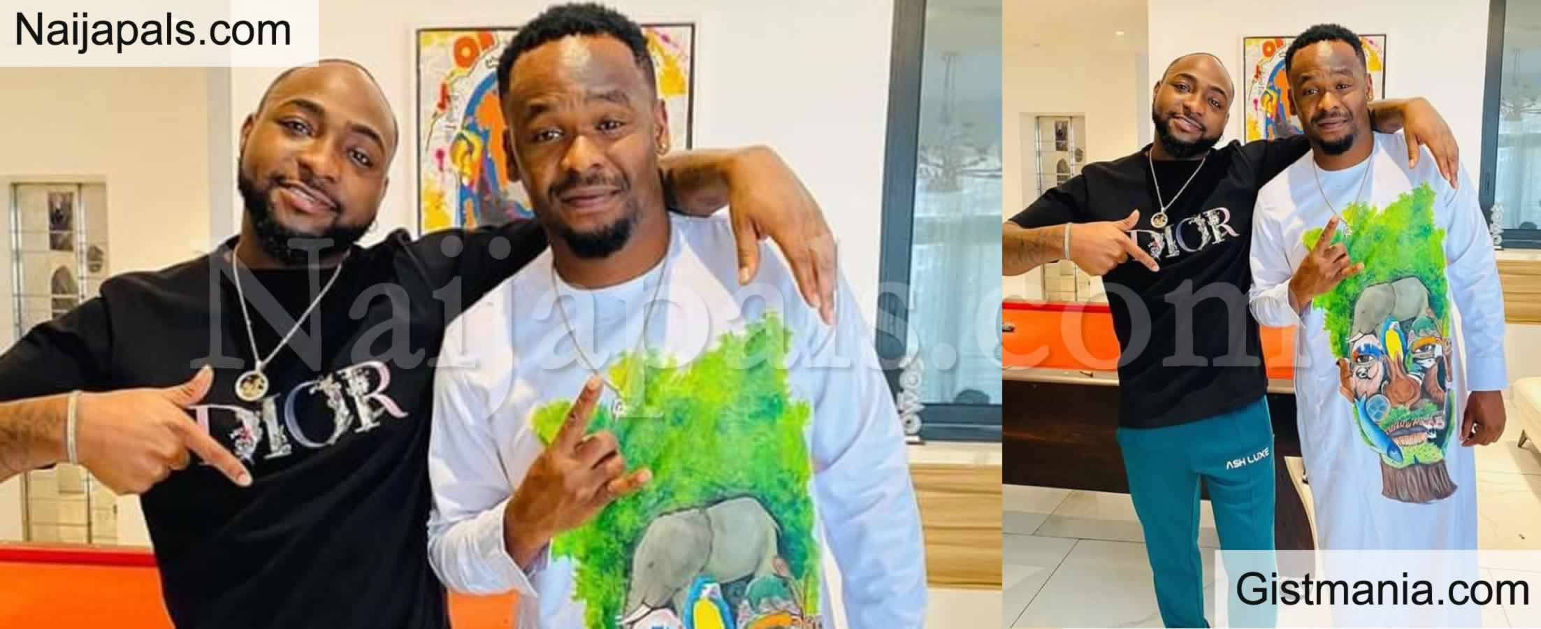 <img alt='.' class='lazyload' data-src='https://img.gistmania.com/emot/video.gif' /> VIDEO: <b>Actor Zubby Michael Goes Wild in Excitement As He Comes Face to Face With Davido</b>